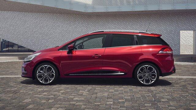 Boční pohled na vůz CLIO Grandtour