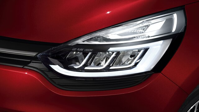 Světlomety LED Pure Vision vozu CLIO Grandtour