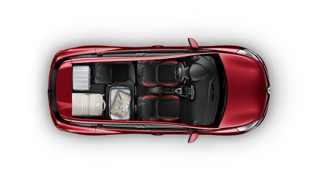 Prostor vozu CLIO Grandtour