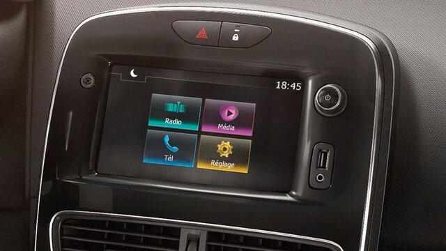 Clio Grandtour Systèmes multimédia et audio