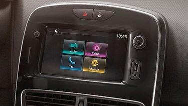 Clio Grandtour Systemy multimedialne i audio