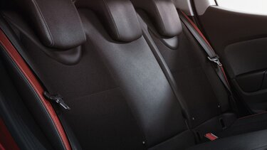 Clio Grandtour składane fotele
