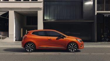 CLIO orange Profilansicht