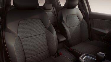 Renault Clio Lutecia Innenraum Sitze