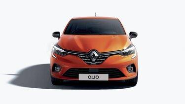 CLIO mały samochód z zewnątrz