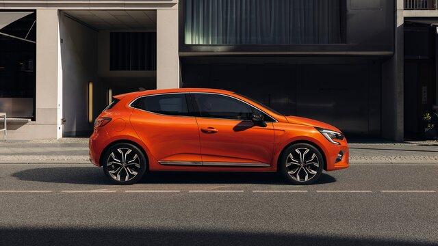 CLIO orange profil