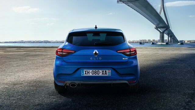 CLIO R.S. Line - külső megjelenés, kék
