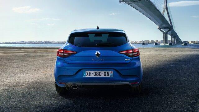 CLIO R.S. Line blau aussen