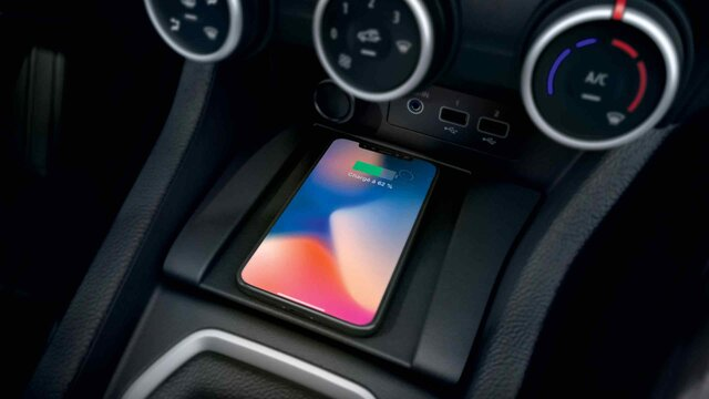 chargeur smartphone à induction CLIO