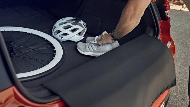 Zavazadlový prostor vozu CLIO