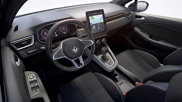 CLIO small car interior