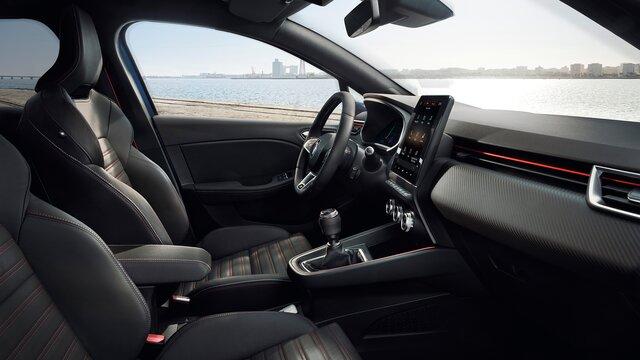 interior Clio R.S. Line