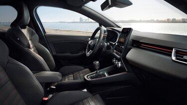 intérieur CLIO R.S. Line