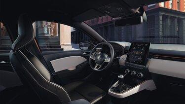 Vybavení interiéru vozu CLIO