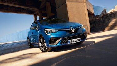 CLIO citadine extérieur orange