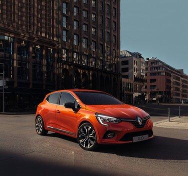 CLIO – zunanjost oranžnega mestnega vozila
