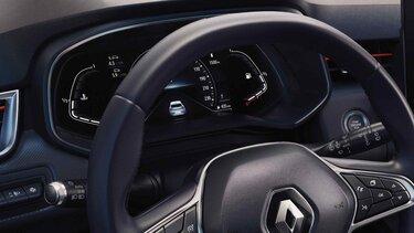 Renault CLIO Fahrerbildschirm
