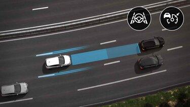 Renault CLIO Autobahn- und Verkehrsassistent