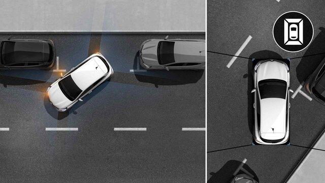 Renault CLIO 360° camera