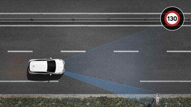 Renault CLIO Verkehrszeichenerkennung