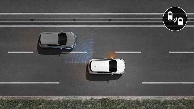 Renault CLIO Sistem de avertizare pentru unghiul mort