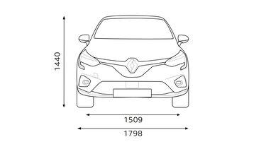 Renault CLIO Abmessungen