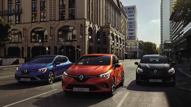 CLIO version Intens, RS Line & Initiale Paris