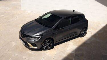 Seitenansicht vom Renault CLIO Hybrid