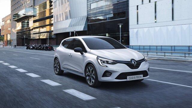 Renault CLIO E-TECH - hybrid city car