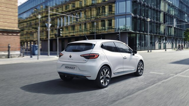 Renault CLIO E-TECH - der Hybrid City-Car