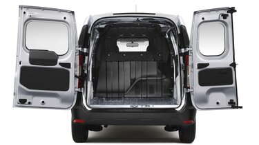 Renault DOKKER Van - Вигляд ззаду з відкритим багажником