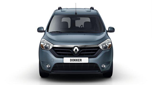 Renault DOKKER - автомобіль для відпочинку - передня частина