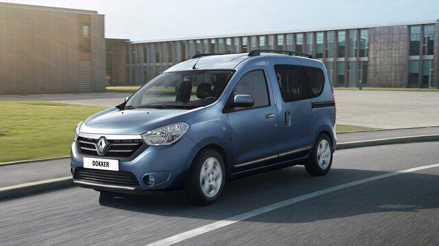 Renault DOKKER - Технічний паспорт