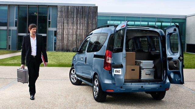 Renault DOKKER - Зовнішній вигляд ззаду