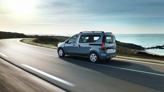 Renault DOKKER - Зовнішній вигляд ззаду в три чверті