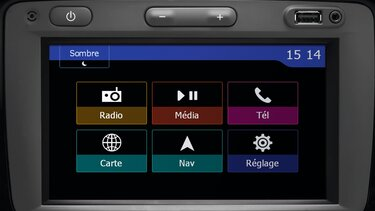 Renault DOKKER - Інтер'єр - Система MEDIA NAV