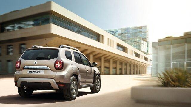 Renault DUSTER - Задня частина