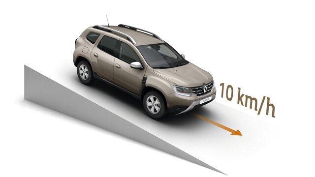 Renault DUSTER - Система керованого спуску