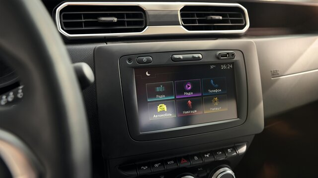 Renault DUSTER - Media Nav