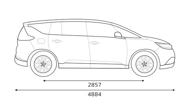 Dimensions Renault SCENIC