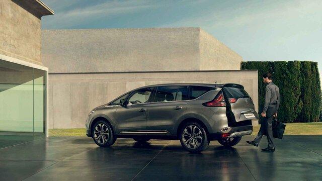 Renault ESPACE – csomagtér