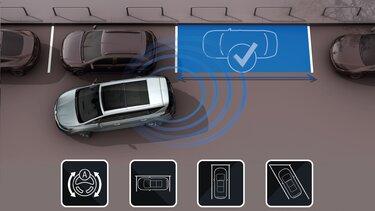 Renault ESPACE – 3D parkolóasszisztens
