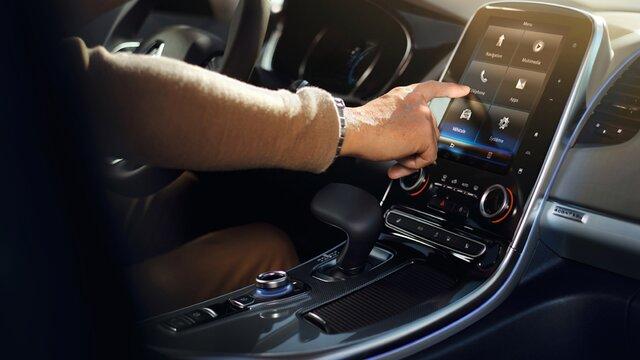 Renault ESPACE scherm op het dashboard