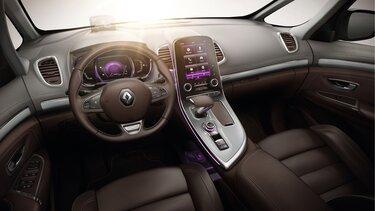 Renault Espace – belső kialakítás