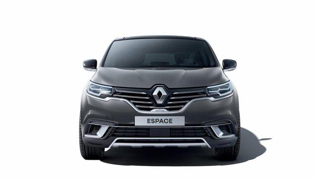 Rode Renault ESPACE voorkant