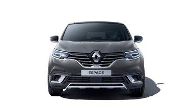 Přední část Renault ESPACE v barvě bordó