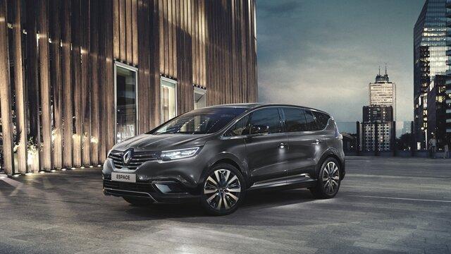 Renault ESPACE buitenkant C-Shape verlichting