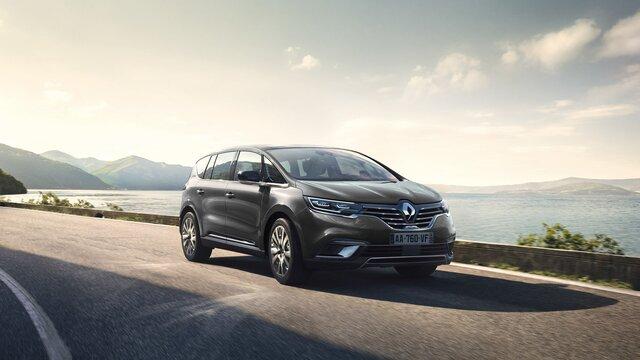 Renault ESPACE extérieur, bordeaux, face avant