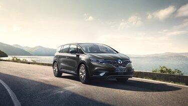 Renault ESPACE Außendesign, burgunderrot, Frontpartie
