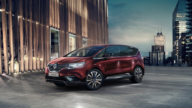 Nieuwe Renault ESPACE